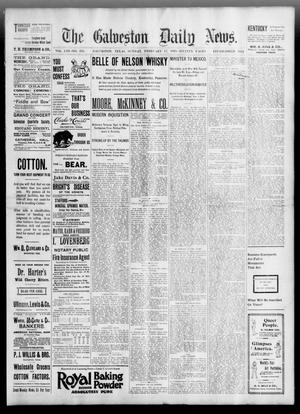 Primary view of object titled 'The Galveston Daily News. (Galveston, Tex.), Vol. 53, No. 331, Ed. 1 Sunday, February 17, 1895'.