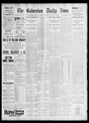 Primary view of object titled 'The Galveston Daily News. (Galveston, Tex.), Vol. 53, No. 350, Ed. 1 Saturday, March 9, 1895'.
