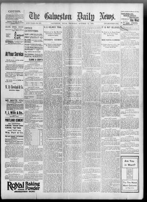 Primary view of object titled 'The Galveston Daily News. (Galveston, Tex.), Vol. 54, No. 221, Ed. 1 Thursday, October 31, 1895'.
