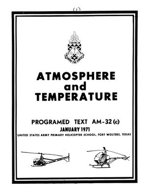 Primary view of object titled 'Atmosphere and Temperature'.