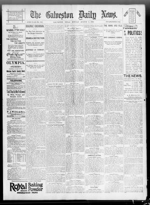 Primary view of object titled 'The Galveston Daily News. (Galveston, Tex.), Vol. 55, No. 132, Ed. 1 Monday, August 3, 1896'.
