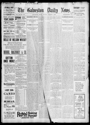 Primary view of object titled 'The Galveston Daily News. (Galveston, Tex.), Vol. 53, No. 346, Ed. 1 Tuesday, March 5, 1895'.