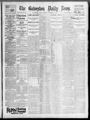 Primary view of object titled 'The Galveston Daily News. (Galveston, Tex.), Vol. 55, No. 216, Ed. 1 Monday, October 26, 1896'.
