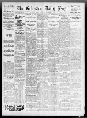 Primary view of object titled 'The Galveston Daily News. (Galveston, Tex.), Vol. 55, No. 252, Ed. 1 Tuesday, December 1, 1896'.
