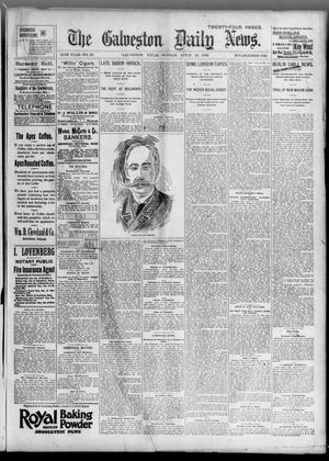 Primary view of object titled 'The Galveston Daily News. (Galveston, Tex.), Vol. 55, No. 33, Ed. 1 Sunday, April 26, 1896'.