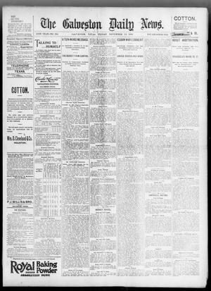 Primary view of The Galveston Daily News. (Galveston, Tex.), Vol. 55, No. 234, Ed. 1 Friday, November 13, 1896