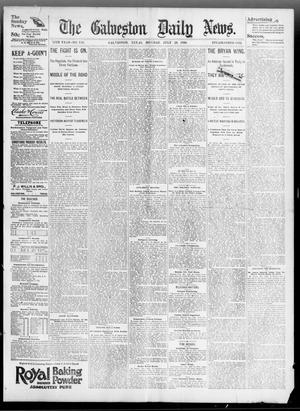 Primary view of object titled 'The Galveston Daily News. (Galveston, Tex.), Vol. 55, No. 118, Ed. 1 Monday, July 20, 1896'.