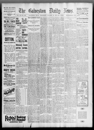 Primary view of object titled 'The Galveston Daily News. (Galveston, Tex.), Vol. 53, No. 299, Ed. 1 Wednesday, January 16, 1895'.