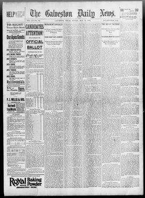 Primary view of object titled 'The Galveston Daily News. (Galveston, Tex.), Vol. 54, No. 68, Ed. 1 Friday, May 31, 1895'.