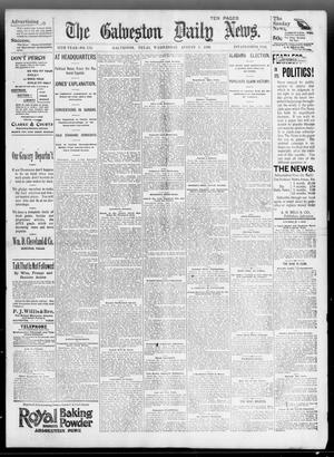 Primary view of object titled 'The Galveston Daily News. (Galveston, Tex.), Vol. 55, No. 134, Ed. 1 Wednesday, August 5, 1896'.