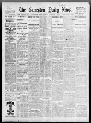 Primary view of object titled 'The Galveston Daily News. (Galveston, Tex.), Vol. 55, No. 314, Ed. 1 Monday, February 1, 1897'.