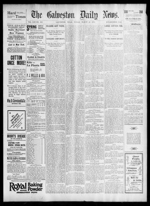 Primary view of object titled 'The Galveston Daily News. (Galveston, Tex.), Vol. 53, No. 363, Ed. 1 Friday, March 22, 1895'.