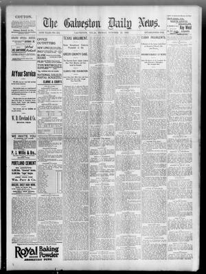 Primary view of object titled 'The Galveston Daily News. (Galveston, Tex.), Vol. 54, No. 215, Ed. 1 Friday, October 25, 1895'.