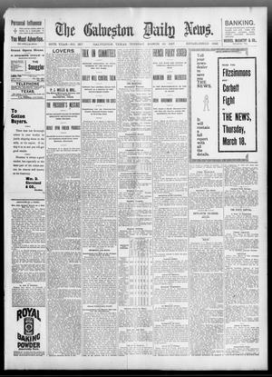 Primary view of object titled 'The Galveston Daily News. (Galveston, Tex.), Vol. 55, No. 357, Ed. 1 Tuesday, March 16, 1897'.