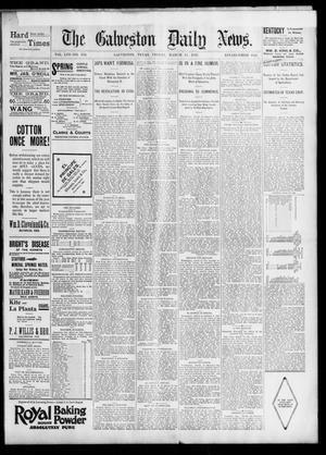 Primary view of object titled 'The Galveston Daily News. (Galveston, Tex.), Vol. 53, No. 356, Ed. 1 Friday, March 15, 1895'.