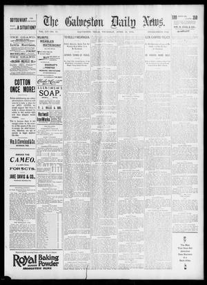 Primary view of object titled 'The Galveston Daily News. (Galveston, Tex.), Vol. 54, No. 18, Ed. 1 Thursday, April 11, 1895'.