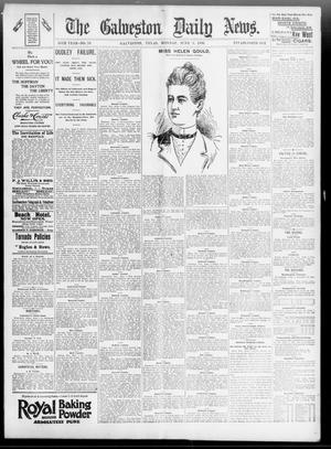 Primary view of object titled 'The Galveston Daily News. (Galveston, Tex.), Vol. 55, No. 76, Ed. 1 Monday, June 8, 1896'.