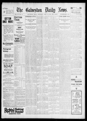 Primary view of object titled 'The Galveston Daily News. (Galveston, Tex.), Vol. 54, No. 25, Ed. 1 Thursday, April 18, 1895'.