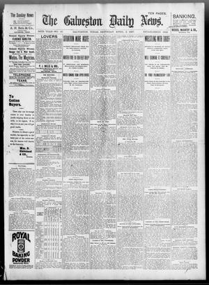 Primary view of object titled 'The Galveston Daily News. (Galveston, Tex.), Vol. 56, No. 10, Ed. 1 Saturday, April 3, 1897'.