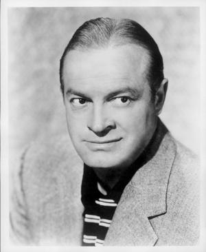 Primary view of object titled '[Portrait of Bob Hope]'.