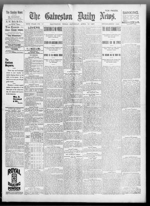 Primary view of object titled 'The Galveston Daily News. (Galveston, Tex.), Vol. 56, No. 17, Ed. 1 Saturday, April 10, 1897'.