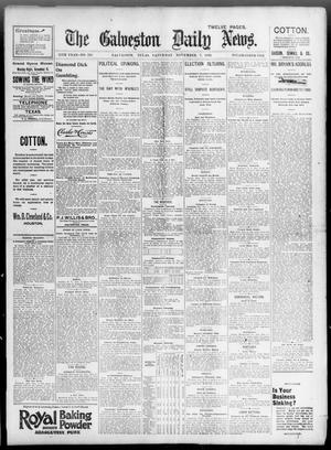 Primary view of object titled 'The Galveston Daily News. (Galveston, Tex.), Vol. 55, No. 228, Ed. 1 Saturday, November 7, 1896'.