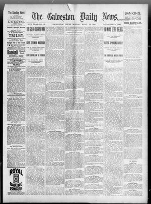Primary view of object titled 'The Galveston Daily News. (Galveston, Tex.), Vol. 56, No. 26, Ed. 1 Monday, April 19, 1897'.