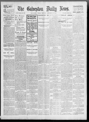Primary view of object titled 'The Galveston Daily News. (Galveston, Tex.), Vol. 55, No. 293, Ed. 1 Monday, January 11, 1897'.