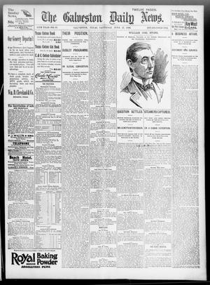 Primary view of object titled 'The Galveston Daily News. (Galveston, Tex.), Vol. 55, No. 95, Ed. 1 Saturday, June 27, 1896'.