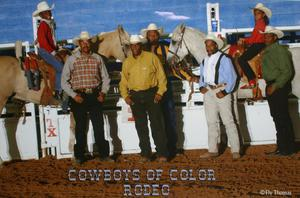 Primary view of object titled 'Cowboys of Color Rodeo'.