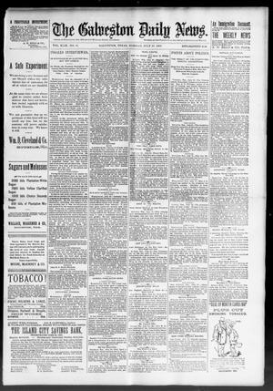 Primary view of The Galveston Daily News. (Galveston, Tex.), Vol. 49, No. 91, Ed. 1 Tuesday, July 29, 1890