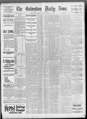 Primary view of object titled 'The Galveston Daily News. (Galveston, Tex.), Vol. 52, No. 145, Ed. 1 Tuesday, August 15, 1893'.