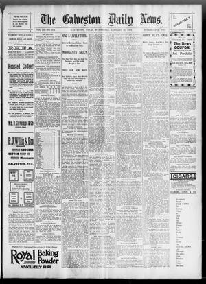Primary view of The Galveston Daily News. (Galveston, Tex.), Vol. 52, No. 314, Ed. 1 Wednesday, January 31, 1894