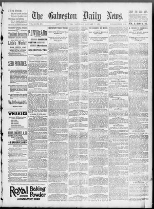 Primary view of object titled 'The Galveston Daily News. (Galveston, Tex.), Vol. 51, No. 289, Ed. 1 Saturday, January 7, 1893'.