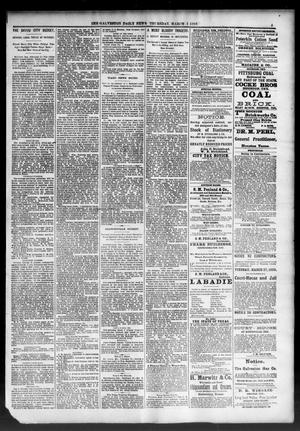 Primary view of object titled 'The Galveston Daily News. (Galveston, Tex.), Vol. 46, No. 310, Ed. 1 Thursday, March 1, 1888'.