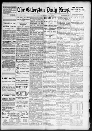 Primary view of object titled 'The Galveston Daily News. (Galveston, Tex.), Vol. 49, No. 77, Ed. 1 Monday, July 14, 1890'.