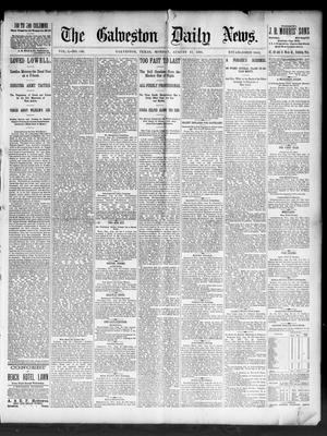 Primary view of object titled 'The Galveston Daily News. (Galveston, Tex.), Vol. 50, No. 146, Ed. 1 Monday, August 17, 1891'.