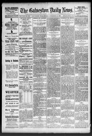 Primary view of object titled 'The Galveston Daily News. (Galveston, Tex.), Vol. 46, No. 138, Ed. 1 Sunday, September 11, 1887'.