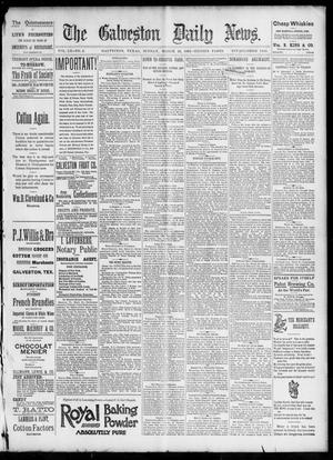 Primary view of object titled 'The Galveston Daily News. (Galveston, Tex.), Vol. 52, No. 2, Ed. 1 Sunday, March 26, 1893'.