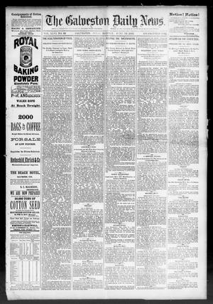 Primary view of object titled 'The Galveston Daily News. (Galveston, Tex.), Vol. 46, No. 48, Ed. 1 Monday, June 13, 1887'.
