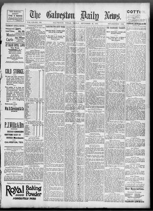 Primary view of object titled 'The Galveston Daily News. (Galveston, Tex.), Vol. 52, No. 183, Ed. 1 Friday, September 22, 1893'.