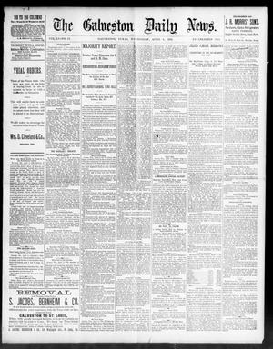 Primary view of object titled 'The Galveston Daily News. (Galveston, Tex.), Vol. 51, No. 13, Ed. 1 Wednesday, April 6, 1892'.