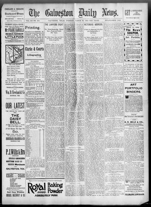Primary view of object titled 'The Galveston Daily News. (Galveston, Tex.), Vol. 52, No. 355, Ed. 1 Tuesday, March 13, 1894'.
