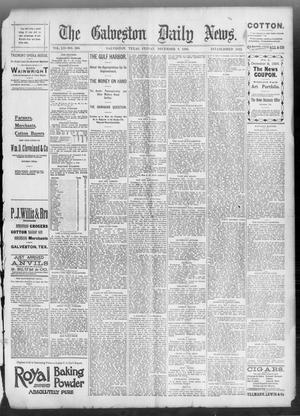 Primary view of object titled 'The Galveston Daily News. (Galveston, Tex.), Vol. 52, No. 260, Ed. 1 Friday, December 8, 1893'.