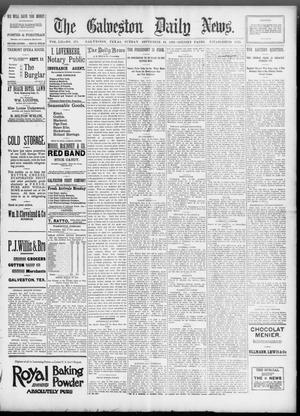Primary view of object titled 'The Galveston Daily News. (Galveston, Tex.), Vol. 52, No. 171, Ed. 1 Sunday, September 10, 1893'.