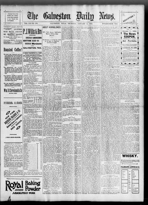 Primary view of object titled 'The Galveston Daily News. (Galveston, Tex.), Vol. 52, No. 294, Ed. 1 Thursday, January 11, 1894'.