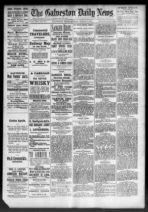 Primary view of object titled 'The Galveston Daily News. (Galveston, Tex.), Vol. 46, No. 313, Ed. 1 Sunday, March 4, 1888'.