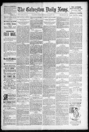 Primary view of object titled 'The Galveston Daily News. (Galveston, Tex.), Vol. 48, No. 334, Ed. 1 Thursday, March 27, 1890'.