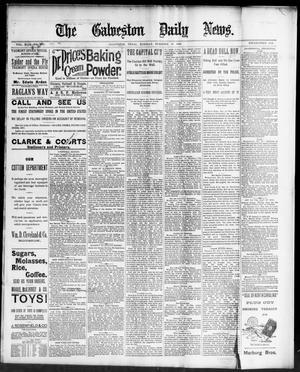 Primary view of The Galveston Daily News. (Galveston, Tex.), Vol. 49, No. 230, Ed. 1 Tuesday, December 16, 1890