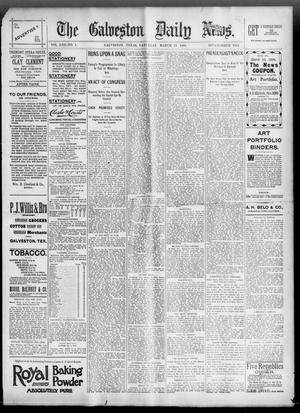 Primary view of object titled 'The Galveston Daily News. (Galveston, Tex.), Vol. 53, No. 1, Ed. 1 Saturday, March 24, 1894'.